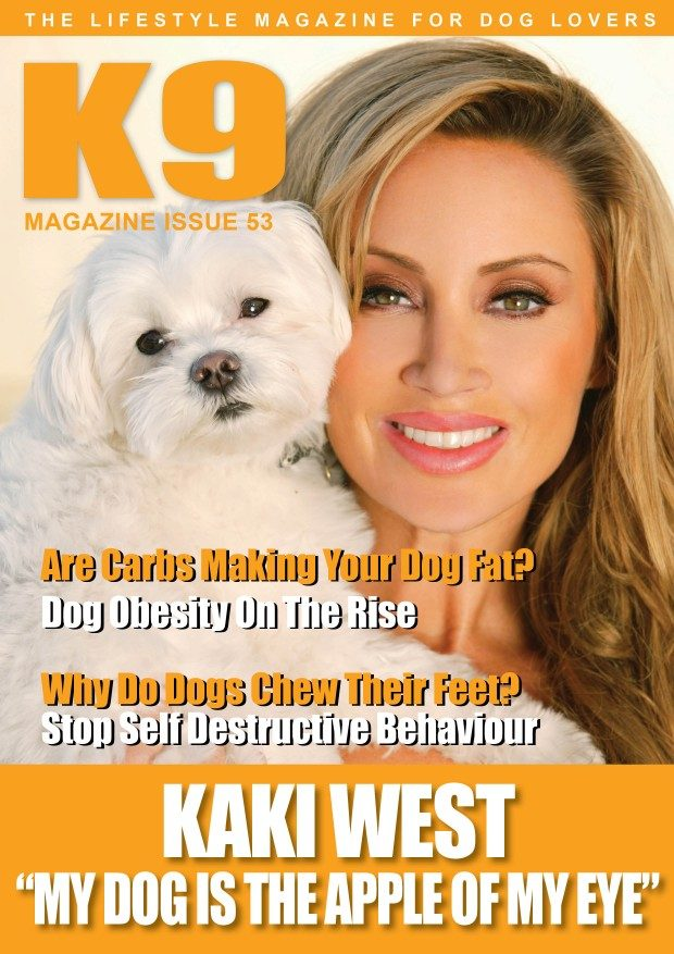 K9 Magazine Issue 53 Cover with Kaki West - web