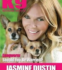 K9 Magazine Issue 64 Front Cover - Jasmine Dustin
