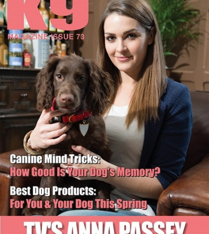 K9 Magazine Issue 73 Cover - Anna Passey (LR)
