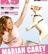 K9 Magazine cover Mariah Carey