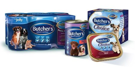Butchers dog food range